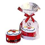 Mikkar Christmas Decorations, Party Supplies Presents Cake Towel Xmas Washcloth Dishcloth