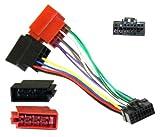 Aerzetix-Adaptador de radio ISO Krups-Cable adaptador conector de cables para radio de coche SONY C1920