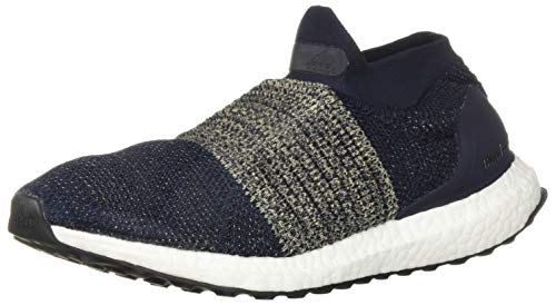 sports shoes 53b2d b8c37 adidas Men's Ultraboost Laceless,legend ink/legend/ink/raw gold,8 M US