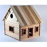 Haus 1 Zum Selbstbau Holz Spielzeug Massiv Selber Bauen Kinder