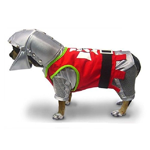 Puppe Love Costumes for Dogs - SIR BARKS A LOT COSTUME Brave Royal Knight Dog(Size 2)