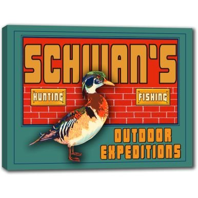 schwans-outdoor-expeditions-stretched-canvas-sign