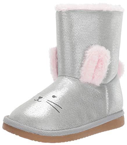 Carters Kids Carets Girls Eleni2 Silver Novelty Boot Fashion