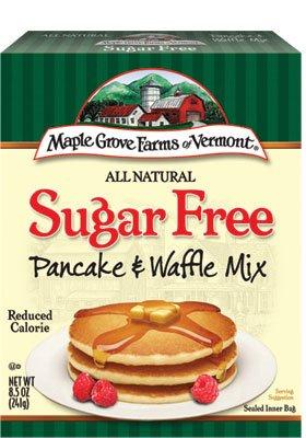 Sugar Free Pancake Mix - Maple Grove Farms Sugar Free Pancake and Waffle Mix 8.5 Oz