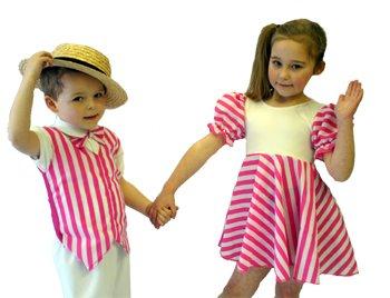 CL COSTUMES Tanz-Bühnenkleidung-Show-Musical-Solo-Stepptanz-Kostüm Kleid Candy Mädchen- Jedes Alter Größen - Wie abgebildet, Ladies  12
