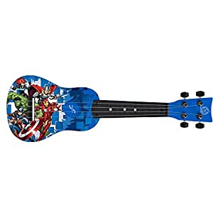 first act av285 avengers mini guitar ukulele musical instruments. Black Bedroom Furniture Sets. Home Design Ideas