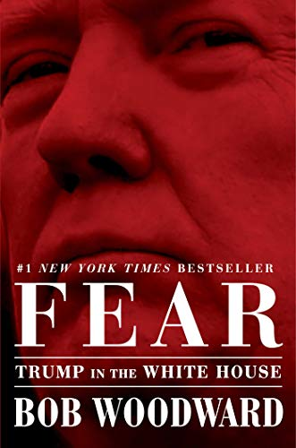 Book cover from Fear: Trump in the White House by Bob Woodward