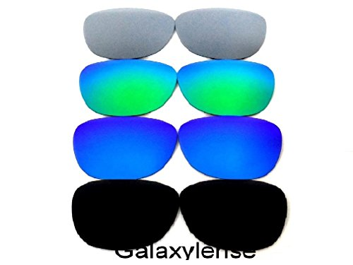 Galaxy Replacement Lenses For Oakley Frogskins Black/Blue/Green/Titanium 4 - Frogskin Lens Oakley