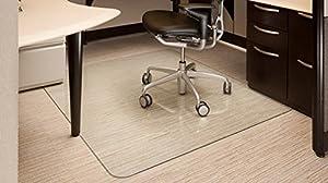 Vitrazza 42 X 48 Glass Office Chair Mat Office Pro