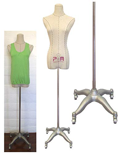 PGM Body Dress Form Bridal Display Mannequin Form with Base