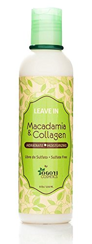 Macadamia & Collagen Reviving Leave In Conditioner, 9 Ounce