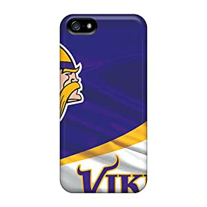 Premium Tpu Minnesota Vikings Cover Skin For Iphone 5/5s
