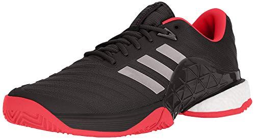 adidas Men's Barricade 2018 Tennis Shoe (Black/Night/Scarlet,9.5 M US)