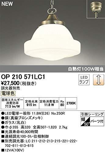 オーデリック/ペンダントライト OP210571LC1 調光器別売 B07T7LQRK9