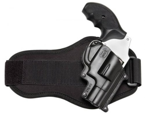 Fobus Ankle Holster for Taurus 85, 605, 905 Single Mag Pistol Case Model Fobus TA85A by Fobus