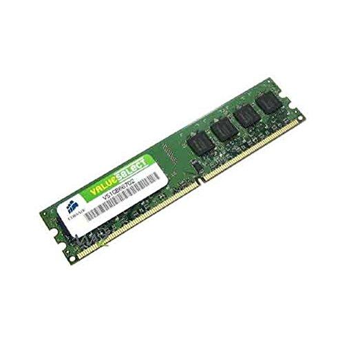 Corsair VS1GB667D2 1GB DDR2 Memory 240 pin desktop memory