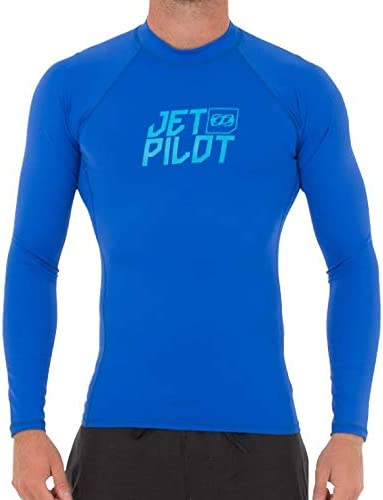 JETPILOT(ジェットパイロット) 2018年モデル JP LOGO 長袖ラッシュガード・ブルー