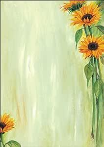 Sigel Sunflower - Papel preimpreso para impresora de inyección de ...