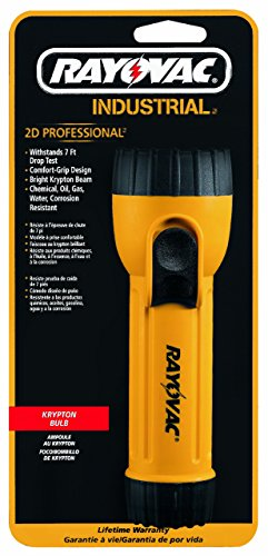 Rayovac Industrial Krypton Yellow Flashlight