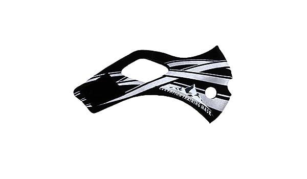 Training Mask - Máscara de entrenamiento a gran altura 2.0 Venom Venomous , Medium, Tribal negro: Amazon.es: Deportes y aire libre