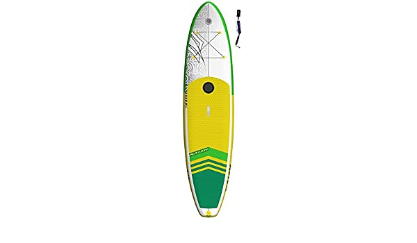 Naish Crossover Air 10 6 LT Sup 2018 Standup Remo Board, Wind Sup, hinchable con supwave. de Coil de Leash, Stand Up Paddle Board ISUP: Amazon.es: Deportes ...