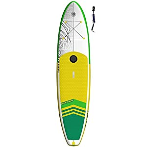 Naish Crossover Air 10'6 LT SUP 2018 Standup Paddel Board, Wind SUP, gonfiabile, con SUPwave.de Coil-Leash, Stand Up Paddle Board iSUP 9 spesavip