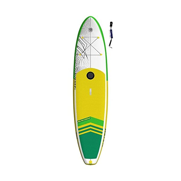 Naish Crossover Air 10'6 LT SUP 2018 Stand up Paddle Board gonfiabile con SUPwave.de Coil-Leash, Stand up Paddle Board… 1 spesavip
