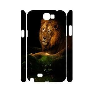 C-Y-F-CASE DIY Design Lion Pattern Phone Case For Samsung Galaxy Note 2 N7100