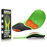 Snapsmile Shoes Insoles for Men and Women - Scientifically Proven Design High Arch Support Orthotic Shoe Inserts Plantar Fasciitis Inserts Super Support Shoe Inserts Men Women - S