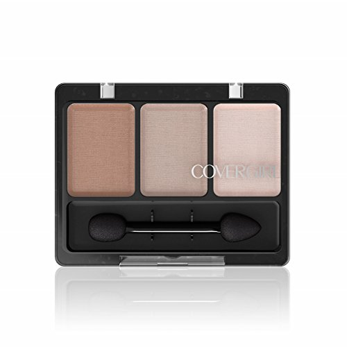 COVERGIRL Eye Enhancers 3-Kit Eye Shadow Shimmering Sands, .14 oz (packaging may (0.14 Ounce Shadow)