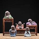 Kingzhuo Ceramic Little Cute Baby Buddha Statue