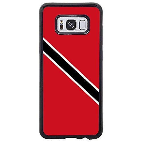 Skinsends Cute Trinidad and Tobago Flag Phone case Compatible with Samsung s8 Plus, Hard Plastic Protective Case Compatible with Samsung Galaxy s8 Plus]()