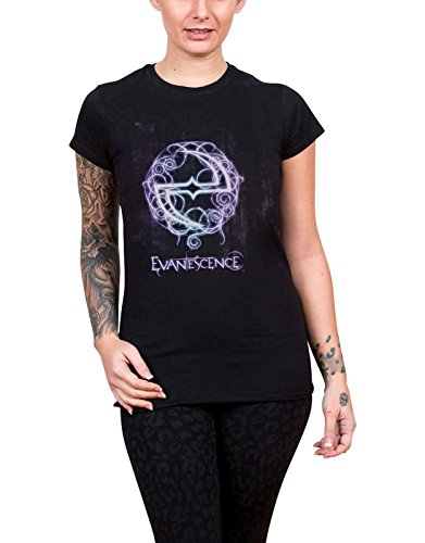 Evanescence T Shirt Band Logo Official Womens Junior Fit -