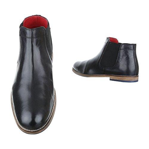 Ital-Design - Botas Chelsea Hombre negro