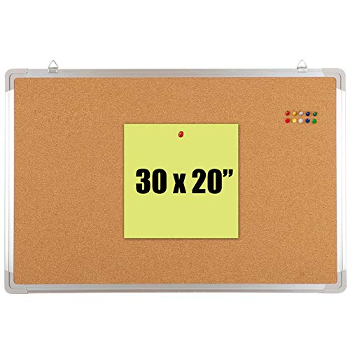 Bulletin Board Set - Cork Board 30 x 20