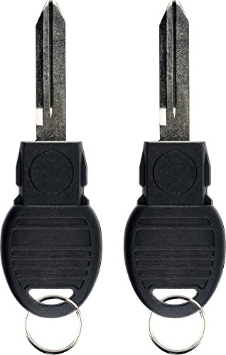 KeylessOption Replacement Keyless Entry Remote Blade Blank Insert for Smart Prox Key (Pack of 2)