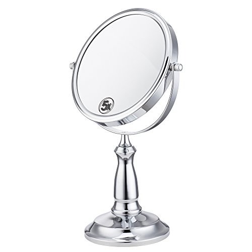 cerdeco-7-inch-two-sided-makeup-mirror-with-5x-magnification-vanity-mirror-tabletop-mirror-chrome-fi