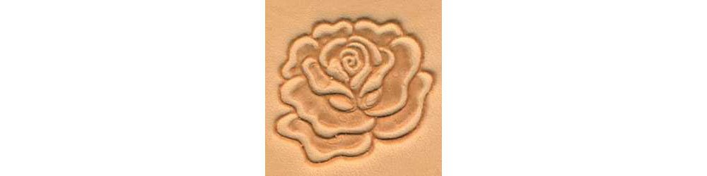 Tandy Leather Rose Craftool� 3-D Stamp 88493-00