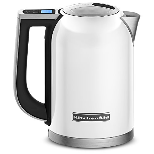 electric tea kettle white - 7