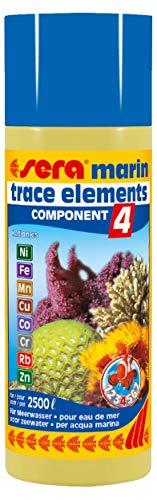 Sera Marin Component 4 Trace Elements Kationics 250 Ml, 8.45 fl.oz Aquarium -