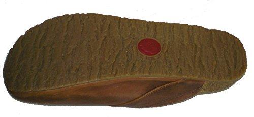 Haflinger819415-0-863 Bio Gero Herren Clogs Hausschuhe Braun