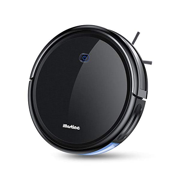Robot Vacuum Cleaner, iMartine 1600Pa Strong Suction Robotic Vacuum Cleaner, Super-Thin...