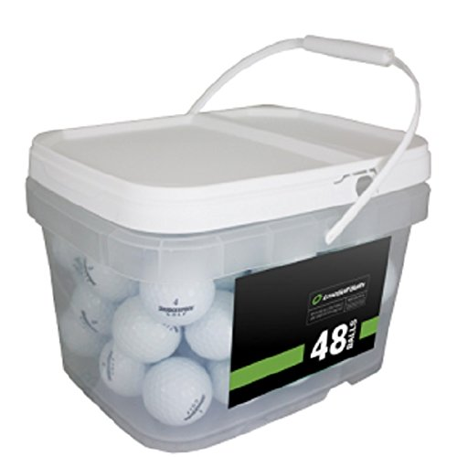 (Bridgestone Tour Mix 48 Recycled Golf Balls, White (Packaging may vary))