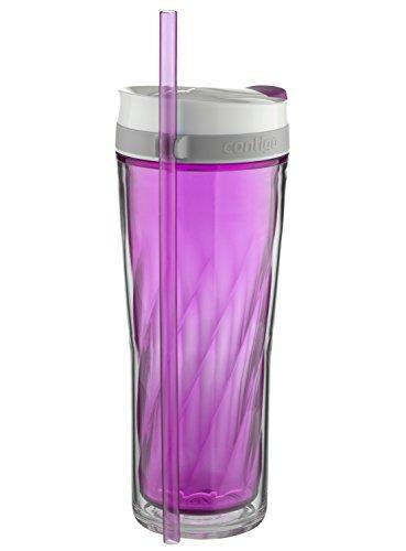 Contigo AUTOCLOSE Shake & Go Flex Tumbler, 24 oz, Radiant Orchid