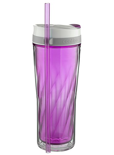 Contigo AUTOCLOSE Shake & Go Flex Tumbler, 24 oz, Radiant (Pretty Pink Orchid)