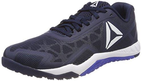 Reebok Herren Ros Workout Tr 2.0 Fitnessschuhe Blau (Collegiate Navy/White/Acid Blue)