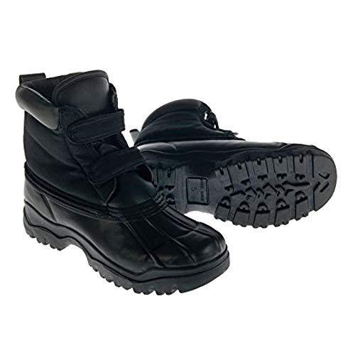 Dublin Childrens/Kids Yardmaster Touch Fastening Boots (Juniors 3) (Black) by Dublin (Image #2)