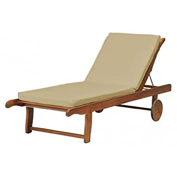 Outdoor Garden Sun Lounger Pad ONLY in Lime *Lounger not included*