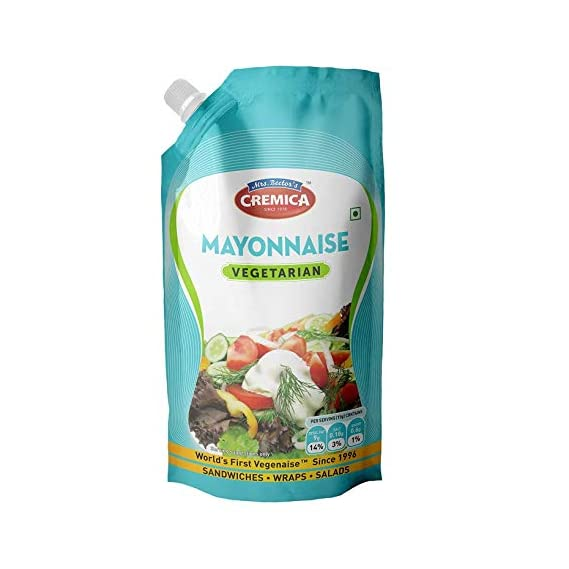 Cremica Mayo Squeeze Pouch, Veg, 875g