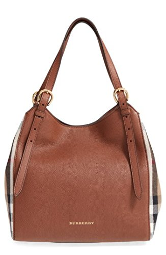 Burberry Small Canter in Leather and House - 2014 Burberry Bag